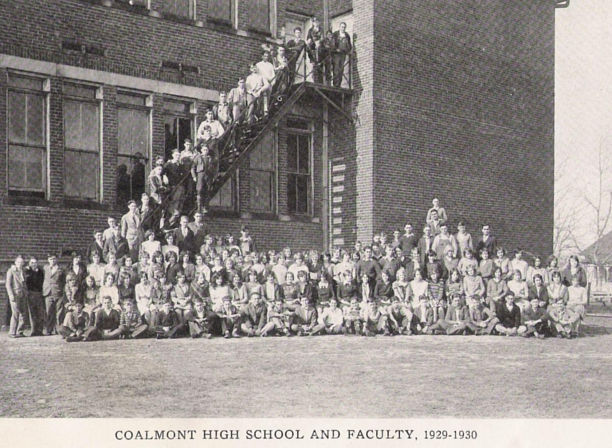 Coalmont High School 1930