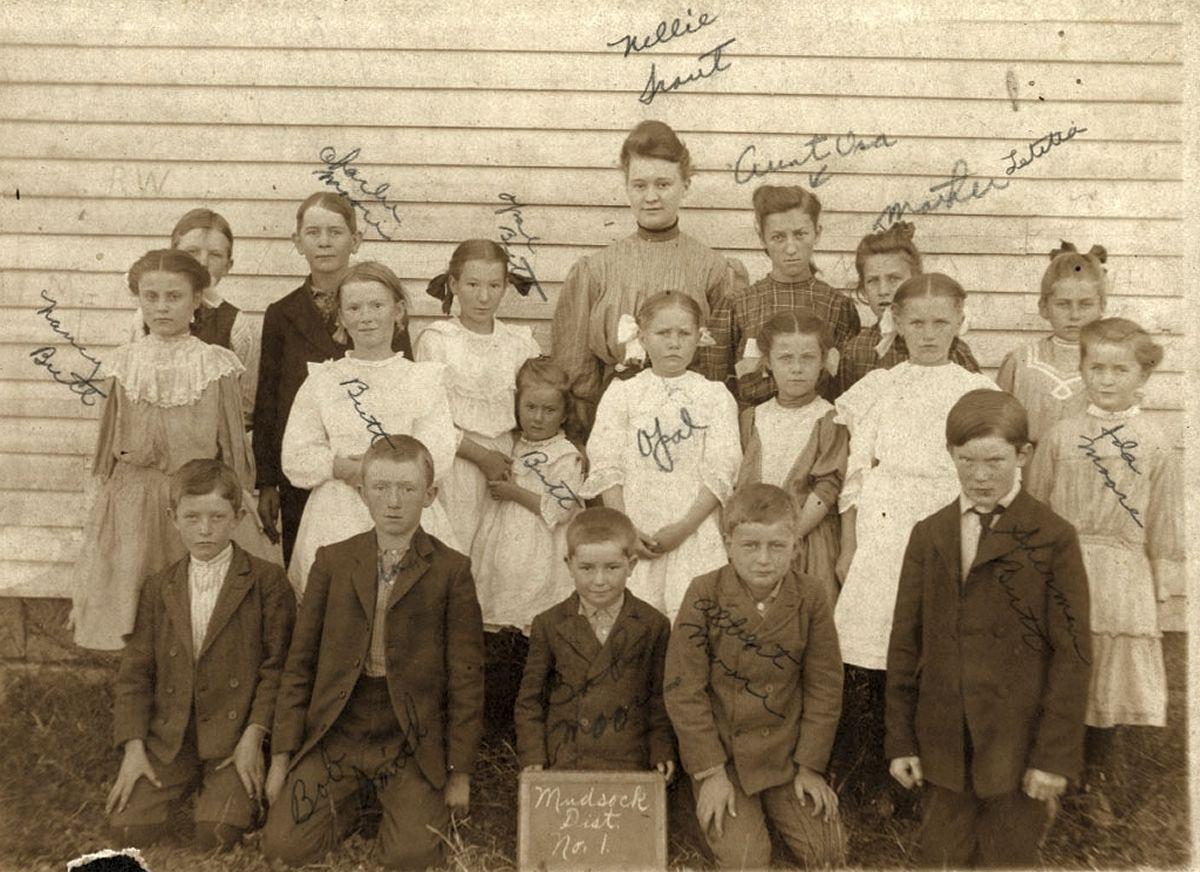 Mudsock School 1907