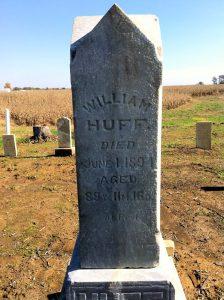 Huff Cemetery Restoration