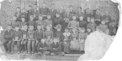 Cory Indiana School late 1800's
